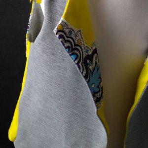 Kamizelka,bezrękawnik,kardigan bez rękawów dla dziewczynki k01